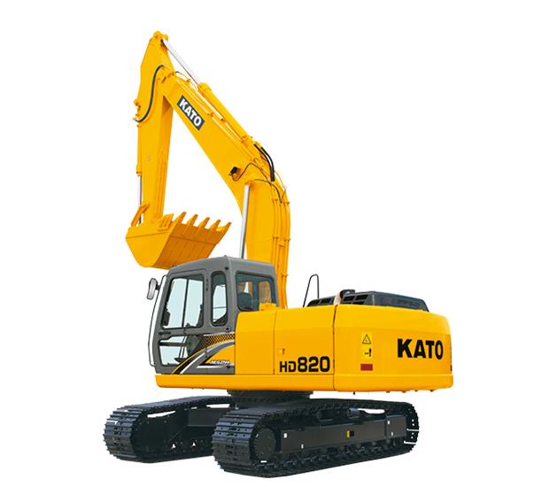 KATO HYDRAULIC EXCAVATOR HD820-R5 | BAUMAWORLD
